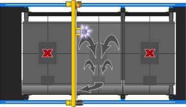 Быстрорежущий станок плазменной, газовой и комбинированной резки с ЧПУ