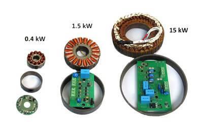 Вентильные электрические двигатели
