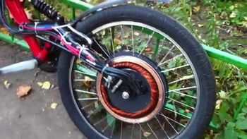 Мотор колесо Дуюнова