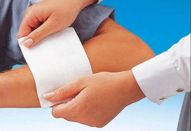 Как сделать компресс на колено с димексидом