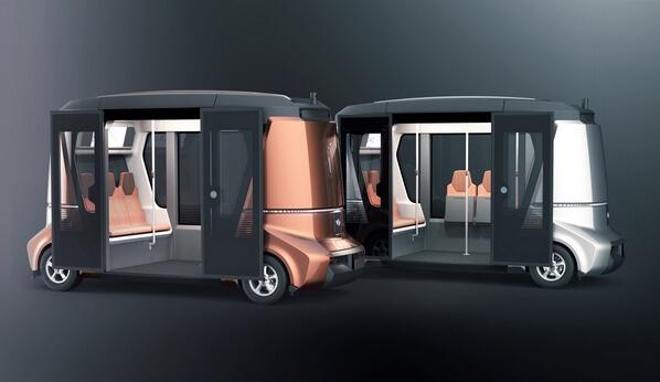 Беспилотный автобус - смартбус «Матрёшка»