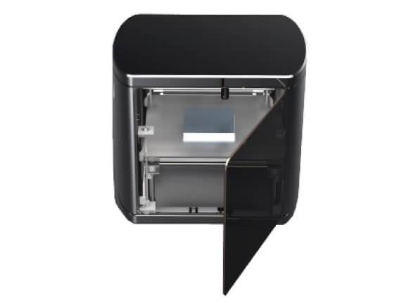 Установка для трехмерной печати изделий из графита