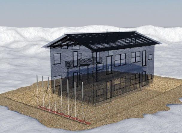 Термостабилизаторы грунтов в условиях вечной мерзлоты