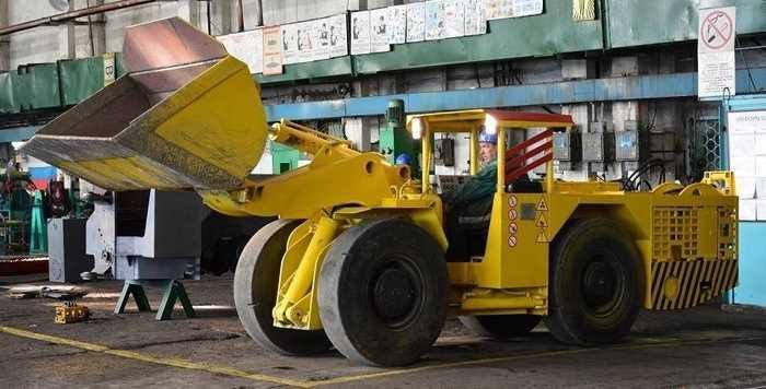 Погрузочно-доставочные машины для подземных работ