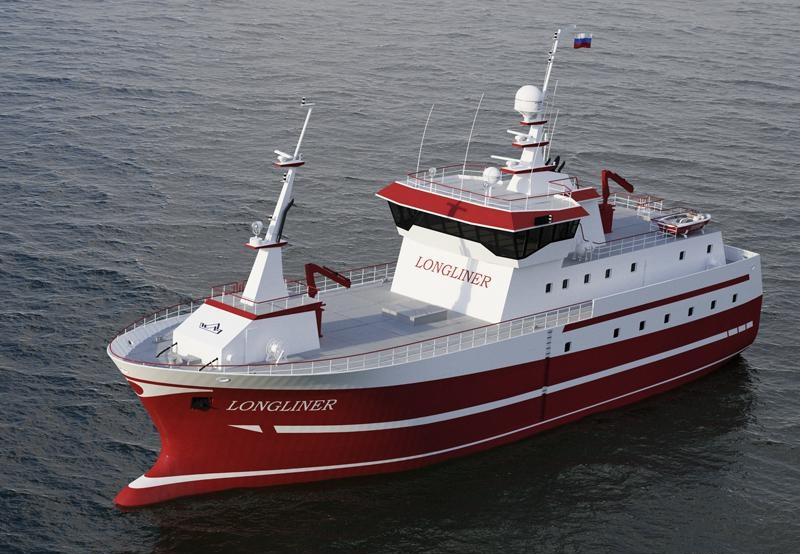 Рыбопромысловое судно проекта PL-475 для ярусного лова рыбы