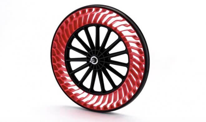 Безвоздушные велосипедные шины