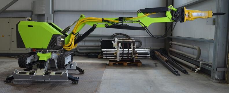 """Демонтажный робот """"Бетонолом 2000"""""""