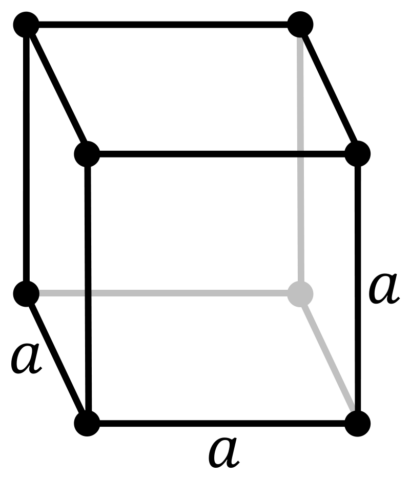 Кристаллическая решетка полония