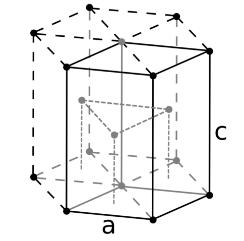 Кристаллическая решетка рения