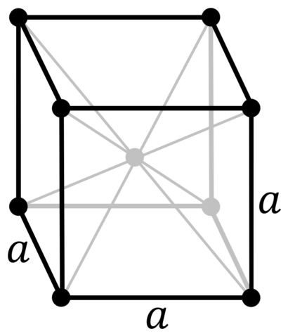 Кристаллическая решетка стронция_гамма