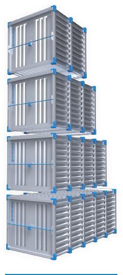 Мобильные контейнеры быстросборные