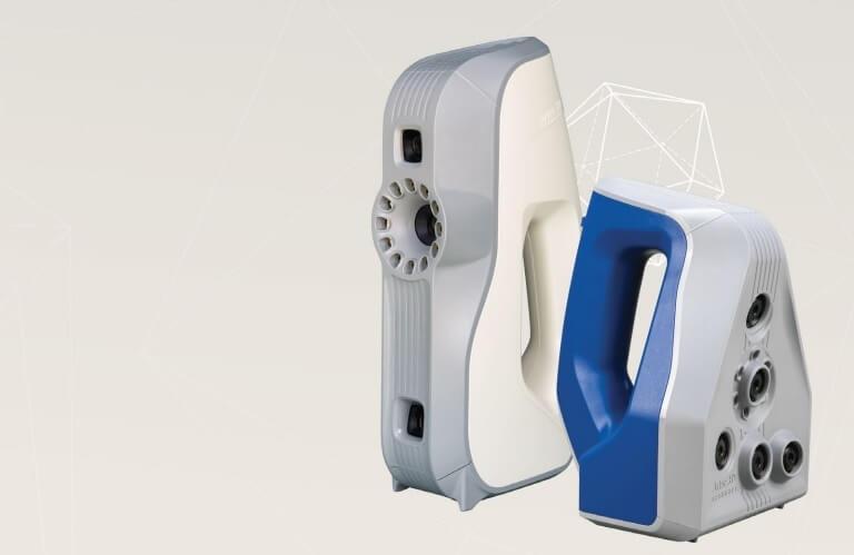 Профессиональные портативные 3D-сканеры