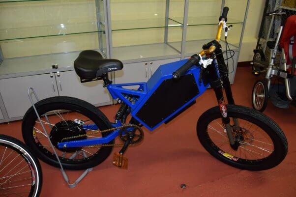 Электроцикл Гранъ мощный велогибрид (электровелосипед)