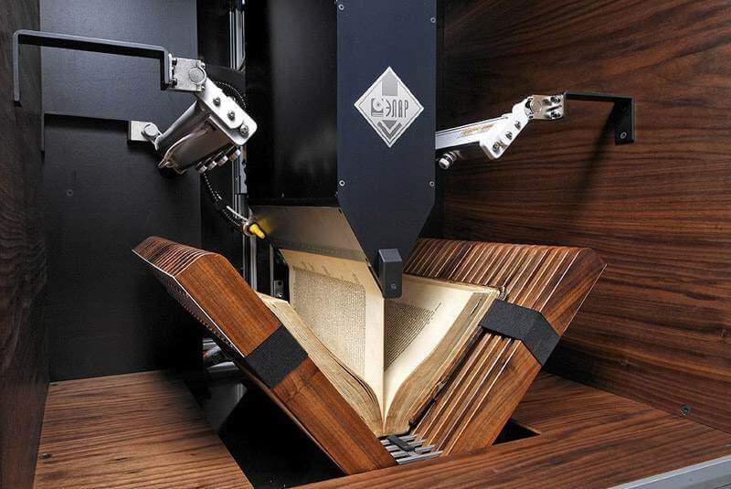 Книжный сканер автоматизированный