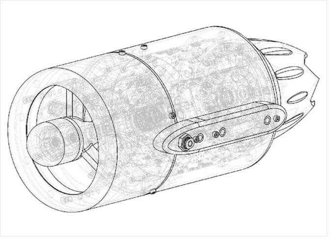 Газотурбинный двигатель малой тяги