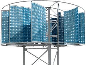 Автономная электростанция гибридная фото-ветровая
