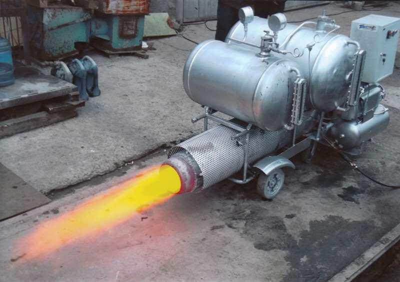 Турбогенераторная водородная установка.