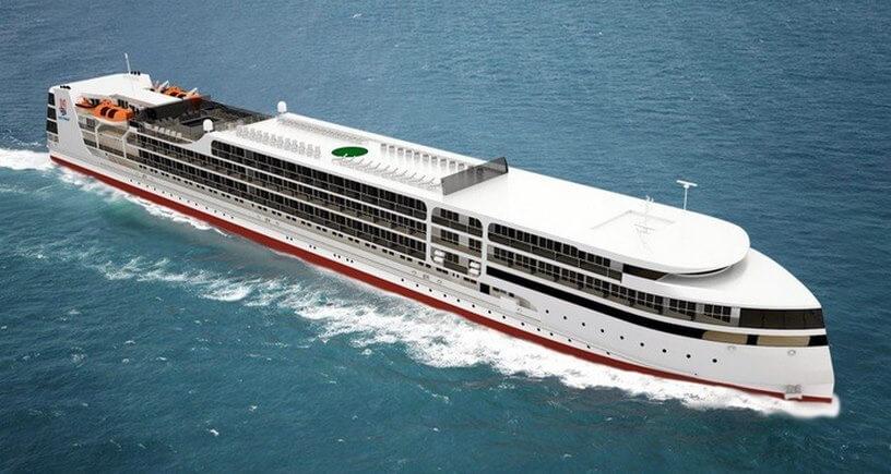 Круизное пассажирское судно