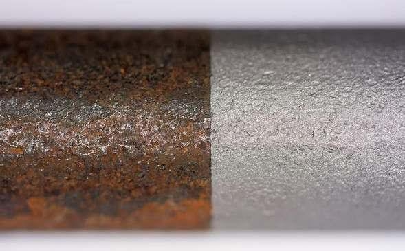 Лазерная очистка металла и неметаллических поверхностей