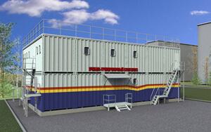 Учебно-тренировочный комплекс для подготовки экипажей кораблей и судов