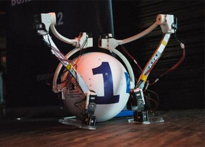 Шагающий робот - двуногий вездеход