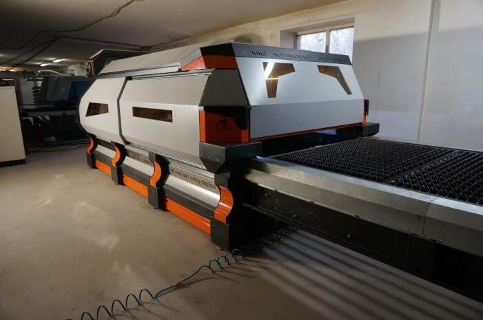 Тяжелый станок лазерной резки металла