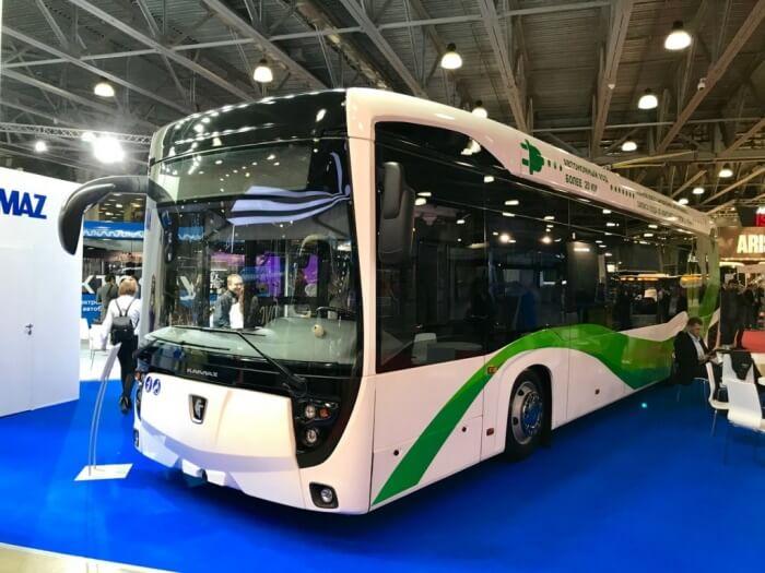Низкопольный троллейбус