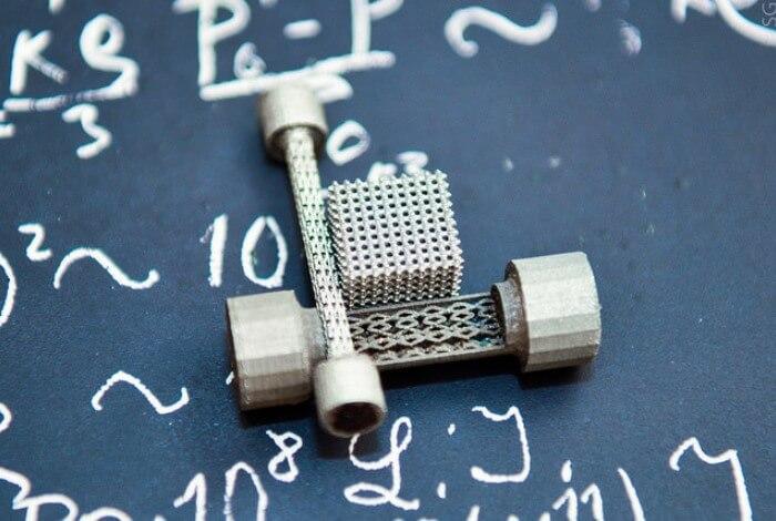 Аддитивная печать металлических деталей сложной формы 2