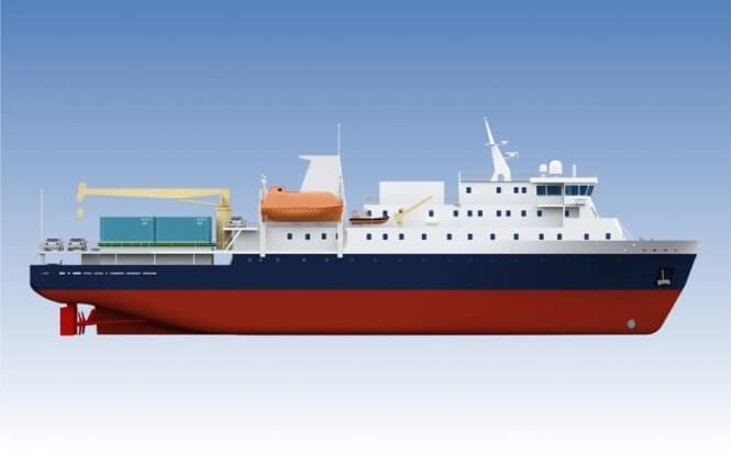 Грузопассажирское судно класса ARC 4 проекта PV22_3