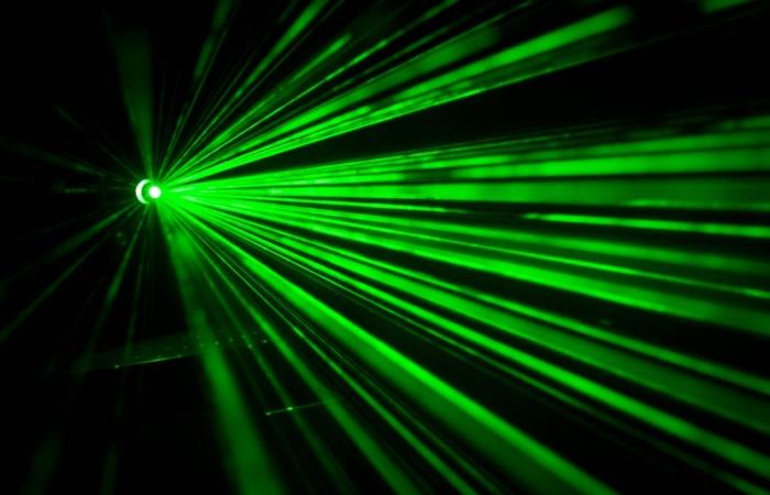 Аргоновый лазер