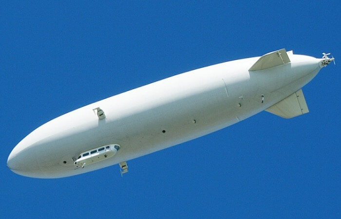 Летательный аппарат с воздушным пузырем