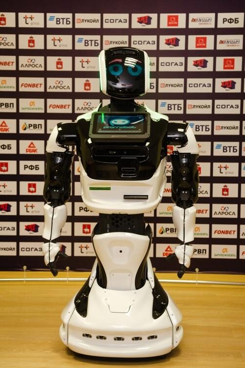 Робот-тренер компании «Промобот»