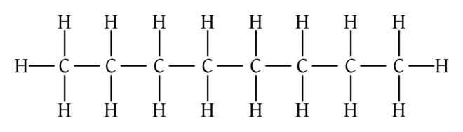 Октан, свойства, химические реакции
