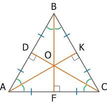 Равносторонний треугольник, свойства, признаки и формулы_22