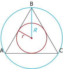 Равносторонний треугольник, свойства, признаки и формулы_23