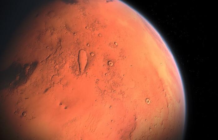 Масса Марса