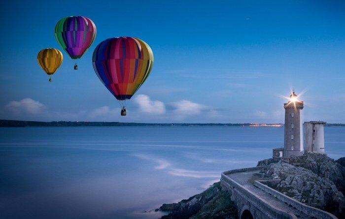 Воздушный шар, его устройство и виды