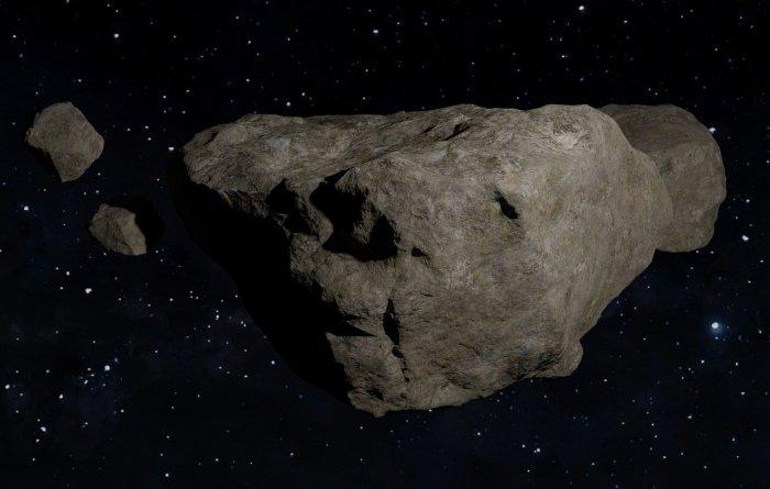 ТОП-10 самых больших астероидов