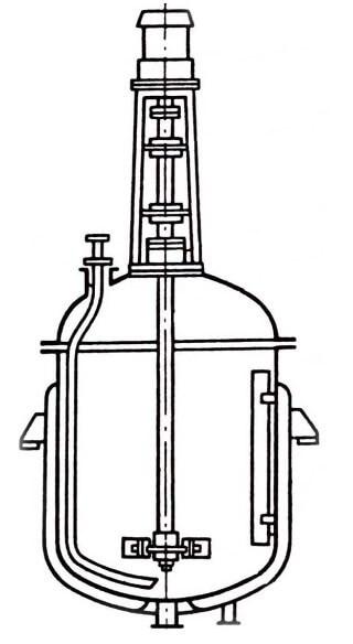 Реактор с перемешивающим устройством