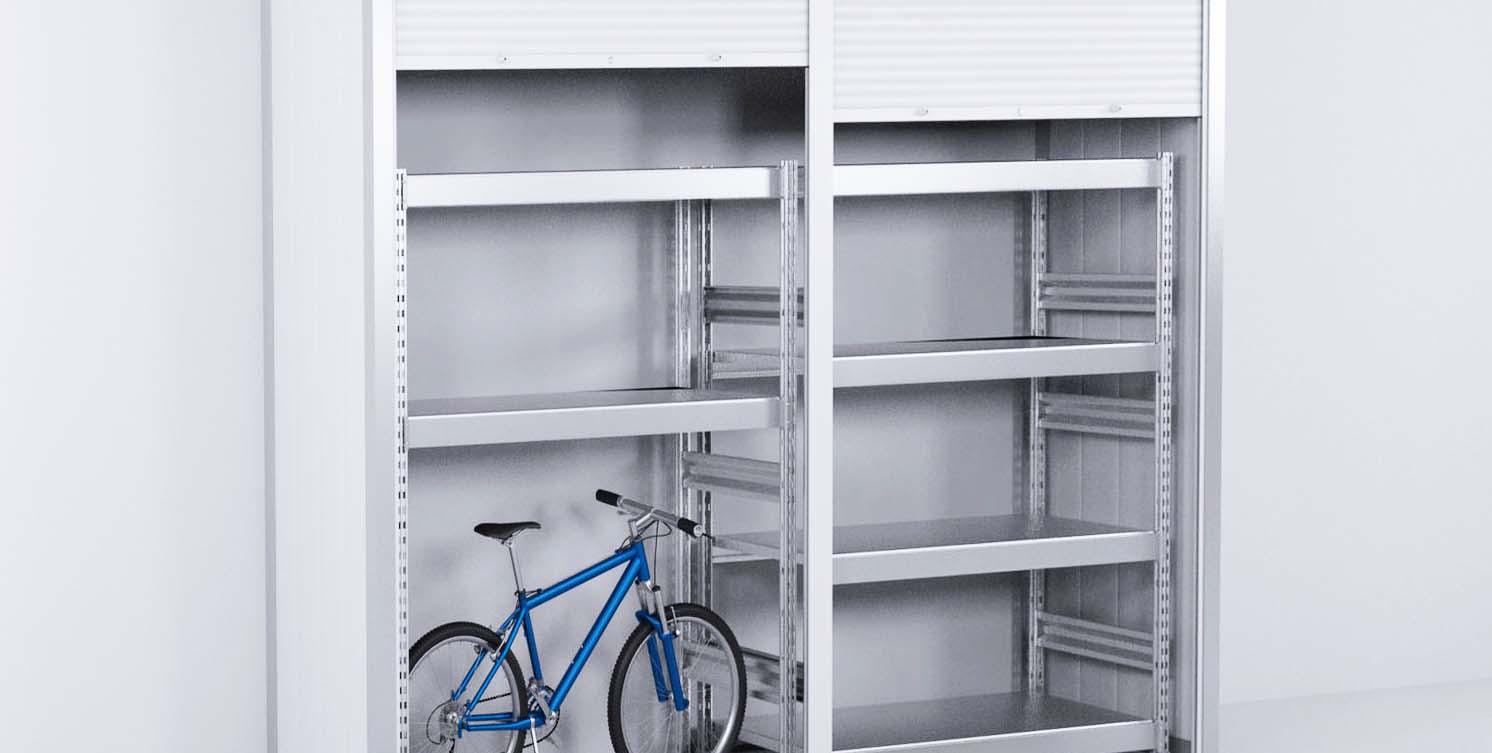 Роллетный шкаф