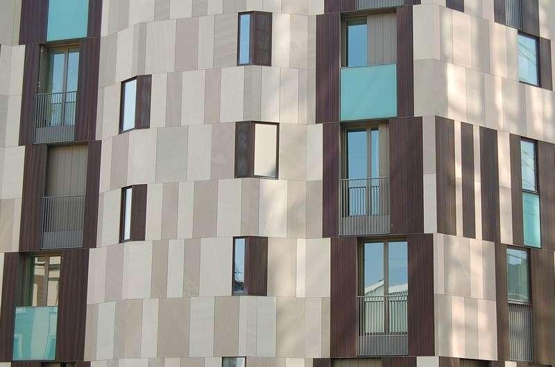 Фиброцемент для облицовки фасадов